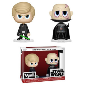 Figuras Funko Vynl. Darth Vader y Luke Skywalker