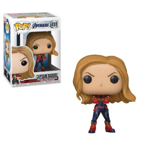 Marvel Avengers: Endgame - Captain Marvel Figura Pop! Vinyl