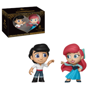 Lot de 2 Figurines Mystery Mini Eric & Ariel - Disney