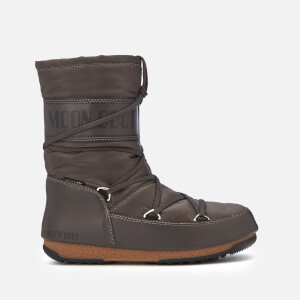 Moon Boot Women's Soft Shade Mid Waterproof Boots - Anthracite