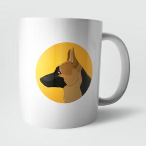 Alsatian Mug