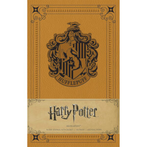 Hufflepuff Crest Hardcover Ruled Journal