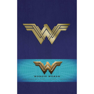 Wonder Woman Hardback Ruled Journal