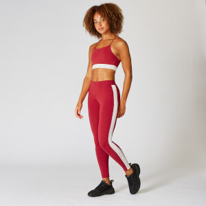Myprotein Icon Leggings - Crimson