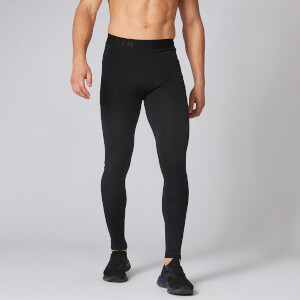 Elite Seamless Tights - Musta