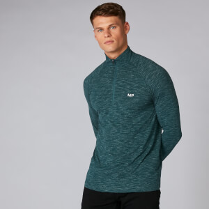 Performance ¼ Zip Top - alpine marl