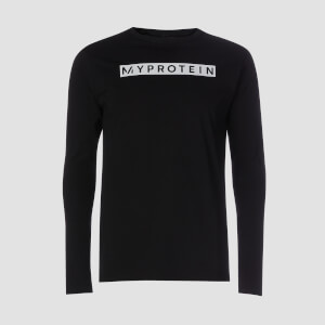 Myprotein The Original Long Sleeve Top - Black