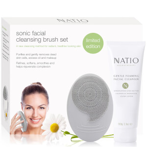 Natio Sonic Facial Cleansing Brush Set (Free Gift)