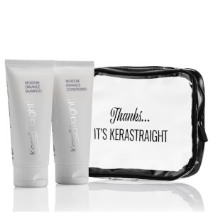 KeraStraight Moisture Enhance Shampoo/Conditioner Travel Bag