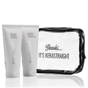 KeraStraight Moisture Enhance -matkasetti: shampoo ja hoitoaine