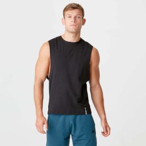 Camisa Sem Manga Luxe Classic Drop - Preto