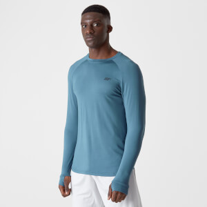 Dry-Tech Infinity Long-Sleeve T-Shirt – Blau