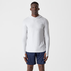 Sweat à capuche Dry-Tech Infinity  – Gris