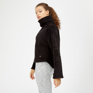 Sherpa Fleece - Black