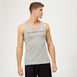 Myprotein The Original Stringer Vest - Grey Marl