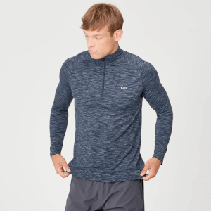 MP Men's Performance 1/4 Zip Top - Navy Marl
