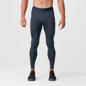 Charge Compression Tights - Navy Marl