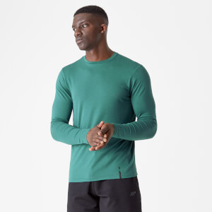 Luxe Classic Long-Sleeve Crew
