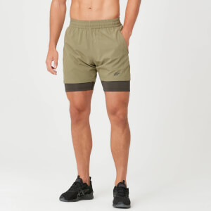Myprotein Power Shorts - Light Olive