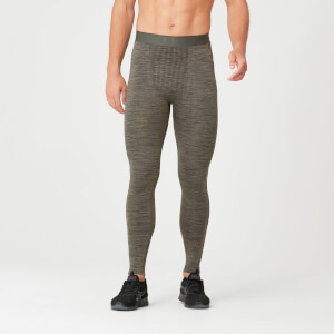 Seamless Tights - Light Olive
