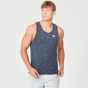 Performance Tank Top - Navy Marl