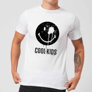 Smiley World Slogan Cool Kids Men's T-Shirt - White