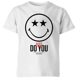 Smiley World Slogan Just Do You Kids' T-Shirt - White
