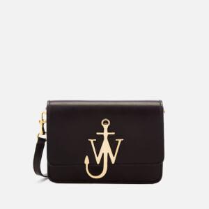 JW Anderson Women's Mini Logo Purse - Black/Gold