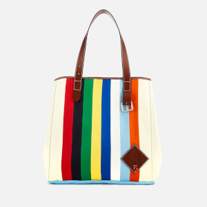 JW Anderson Women's Patchwork Belt Tote Bag - Calico Multi