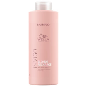 Wella Professionals Invigo Blonde Recharge Cool Blonde Color Refreshing Shampoo 1000ml
