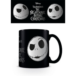 Nightmare Before Christmas (Jack Face) Coffee Mug