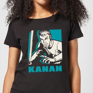 Star Wars Rebels Kanan Women's T-Shirt - Black