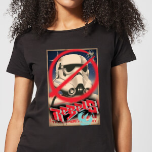 Star Wars Rebels Poster Women's T-Shirt - Black