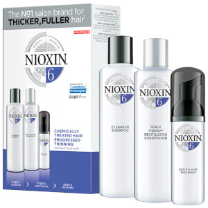 NIOXIN 3-Part System Trial Kit 6 for Chemically Treated Hair with Progressed Thinning -hiustenhoitosetti