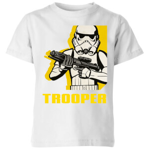 Star Wars Rebels Trooper Kids' T-Shirt - White