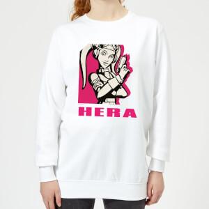 Star Wars Rebels Hera Damen Pullover - Weiß