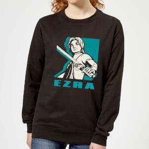 Star Wars Rebels Ezra Women's Sweatshirt - Black