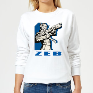 Star Wars Rebels Zeb Women's Sweatshirt - White