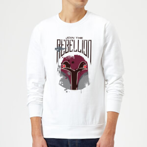 Sudadera Star Wars Rebels Rebellion - Hombre - Blanco