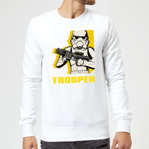 Sudadera Star Wars Rebels Trooper - Hombre - Blanco