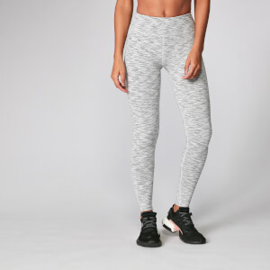 Leggings Power - Tinta chiara space dye