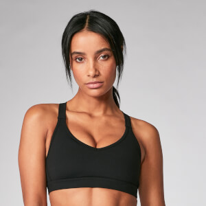 Myprotein Power Mesh Sports Bra - Black