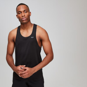 MP Men's Dry Tech Training Essentials Stringer Vest - Black