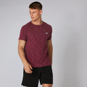 Performance T-Shirt - Burgundy Marl