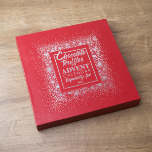 Chocolate Truffles Advent Calendar Box