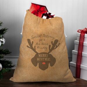 Merry Woofmas Christmas Sack