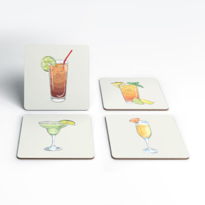 Cocktails Coasters (Pack of 4)