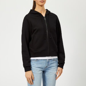 KENZO Women's Tiger Hooded Zipped Blouson - Black