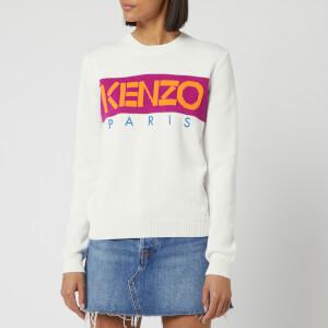 KENZO Women's KENZO Paris Jumper - White