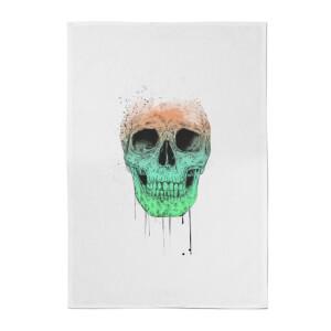 Balazs Solti Skull Cotton Tea Towel